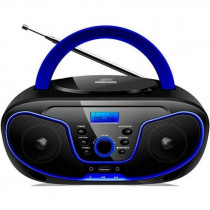 Radio CD DAEWOO DBU62BL, mp3, usb, color azul