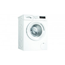 Lavadora de carga frontal  BOSCH WAN24263ES, A+++, 157 kWh/a, 52/74 dB, 7 kg, 1200 RPM, Display LED, Blanco