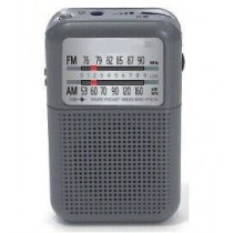 Radio pórtatil Daewoo DRP-8 G, color gris